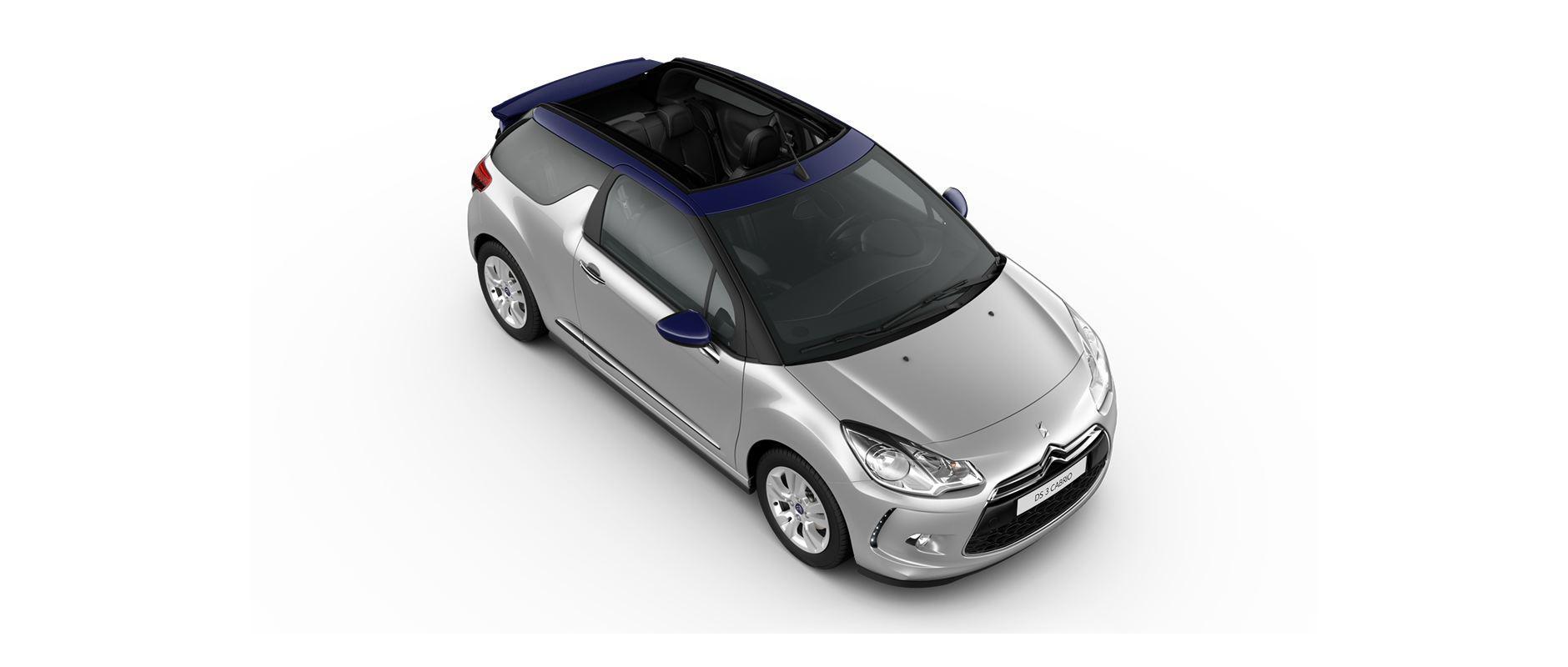 DS 3 Cabrio - finitions - Нива на оборудване