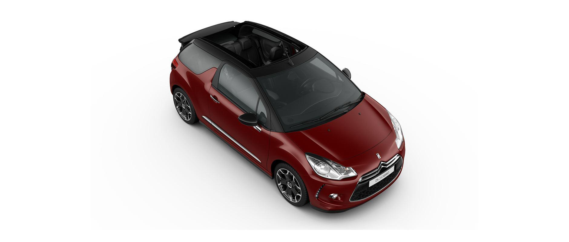 DS 3 Cabrio - Ruby Red