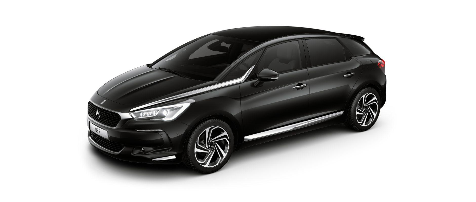 Новият DS 5 - Perla Nera Black