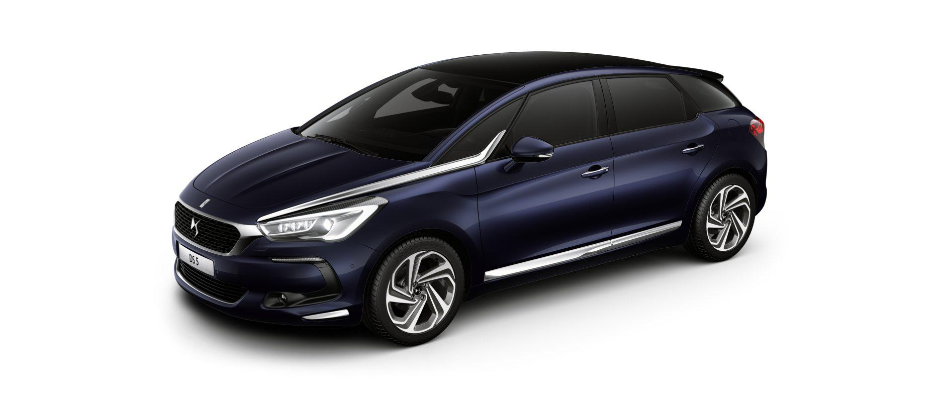 Новият DS 5 - finitions - Sport Chic