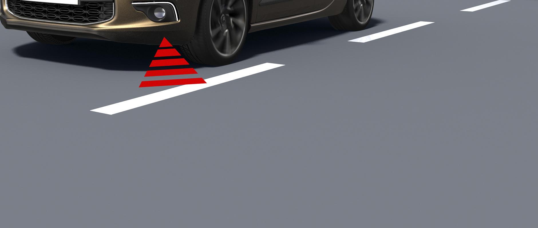 Новият DS 4 - détails - Технологии за безопасност