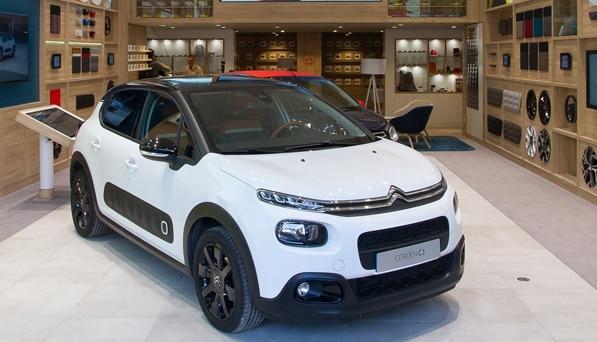 Maison Citroën White C3